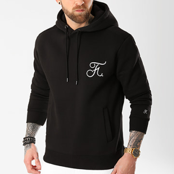 Final Club - Sweat Capuche Premium Fit Avec Broderie 028 Noir