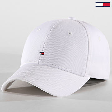 Tommy Hilfiger - Casquette Classic BB AW0AW05080 Blanc