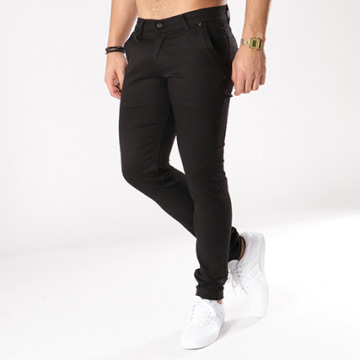 Black Needle - Pantalon Chino 1012 Noir