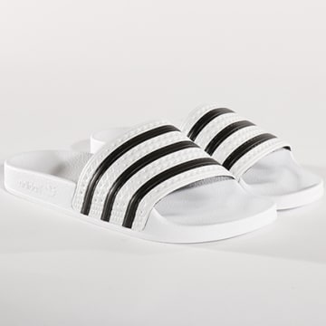 Adidas Originals - Claquettes Adilette 280648 White None White