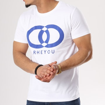 Hooss - Tee Shirt Rheyou Blanc