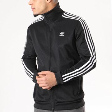 Adidas Originals - Veste Zippée Bandes Brodées Beckenbauer TT CW1250 Noir