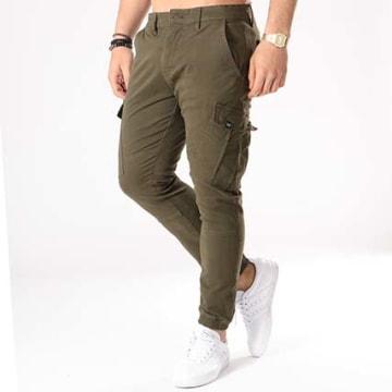 Reell Jeans - Jogger Pant Cargo Vert Kaki