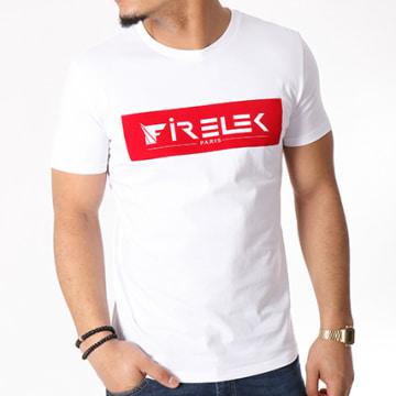 Tee Shirt Logo Feutrine Blanc