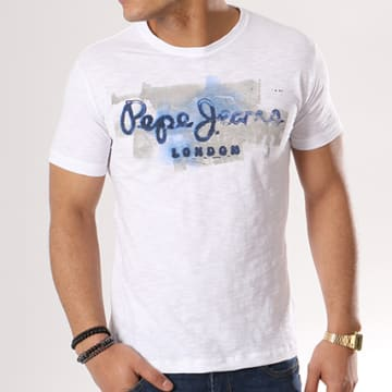 Pepe Jeans - Tee Shirt Golders Blanc
