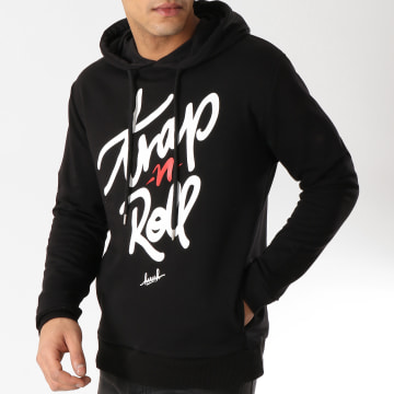 KPoint - Sweat Capuche Trap N Roll Noir
