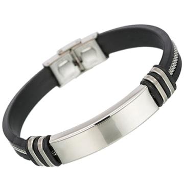 Bracelet Sleek Noir
