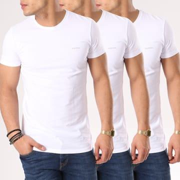 Lot De 3 Tee Shirts Jake 00SPDG-0AALW Blanc