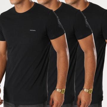 Lot De 3 Tee Shirts Jake 00SPDG-0AALW Noir