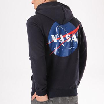 NASA - Sweat Capuche Insignia Bleu Marine