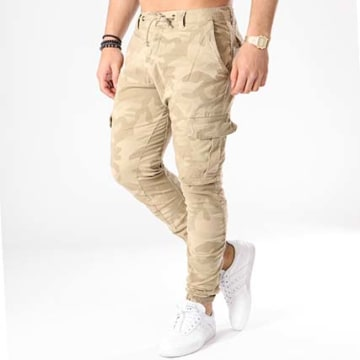 Urban Classics - Jogger Pant TB1611 Beige Camouflage