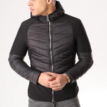 Veste Zippée Capuche MKB60 Noir