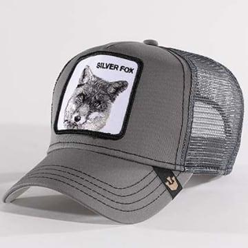 Goorin Bros - Casquette Trucker Silver Fox Gris