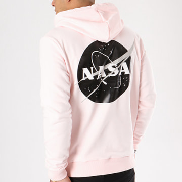 NASA - Sweat Capuche Insignia Desaturate Rose Pale