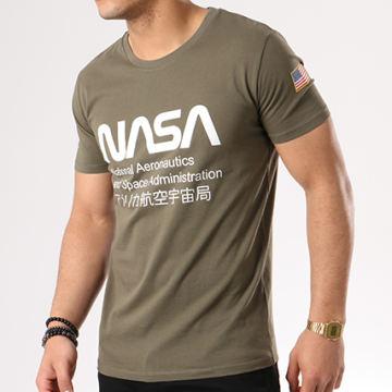 NASA - Tee Shirt Admin Vert Kaki