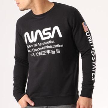NASA - Sweat Crewneck Admin Noir
