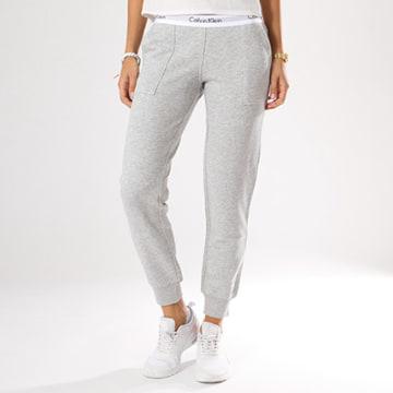 Pantalon Jogging Femme QS5716E Gris Chiné