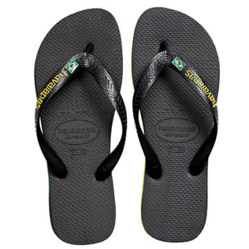 Havaianas - Tongs Brasil Layers Black