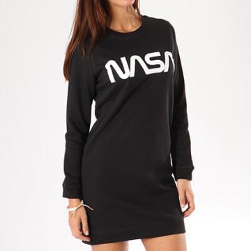NASA - Robe Sweat Femme Worm Logo Noir