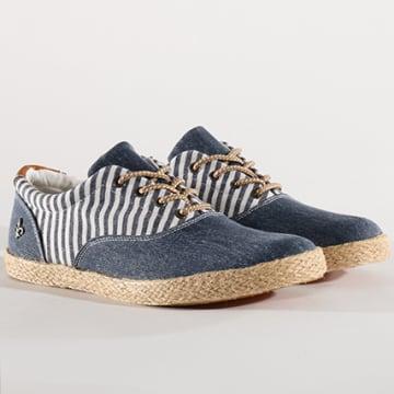 Chaussures Clark Bleu Marine Blanc