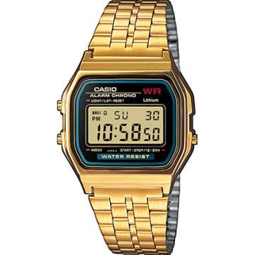 Casio - Montre Collection A159WGEA-1EF Doré Noir