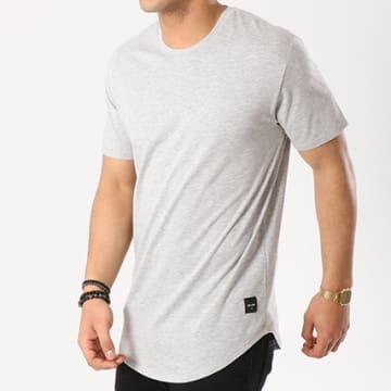 Only And Sons - Tee Shirt Oversize Matt Gris Chiné