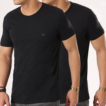 Emporio Armani - Lot De 2 Tee Shirts 111647-CC722 Noir