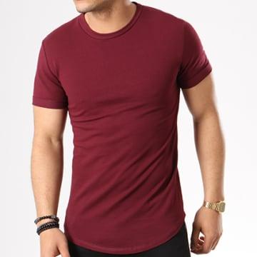 Aarhon - Tee Shirt Oversize 1805 Bordeaux