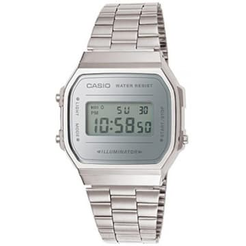 Casio - Montre Collection A168WEM-7EF Argent