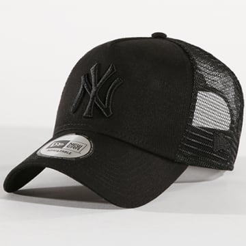 New Era - Casquette Trucker Clean New York Yankees 11579474 Noir