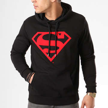 DC Comics - Sweat Capuche Red Logo Noir