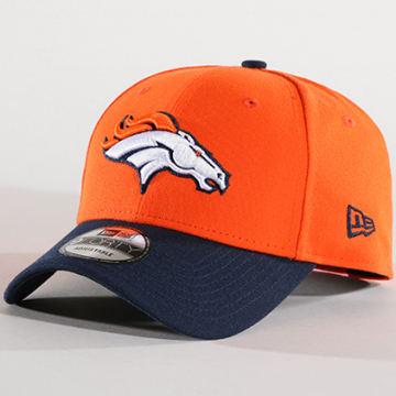 Casquette Denver Broncos The League 10517886 Orange Bleu Marine
