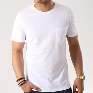 Jack And Jones - Tee Shirt Poche Pocket Blanc