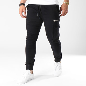 Jogger Pant Avec Zips 7663 Noir