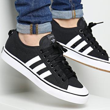 Adidas Originals - Baskets Nizza CQ2332 Core Black Footwear White