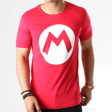 Tee Shirt Mario Big M Rouge Blanc