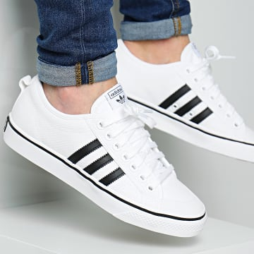 Adidas Originals - Baskets Nizza CQ2333 Footwear White Core Black