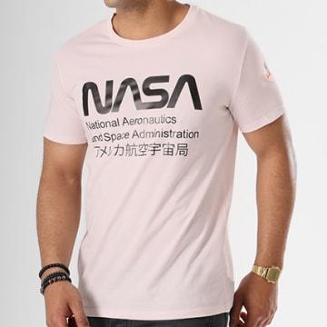 Tee Shirt Admin Rose Pale