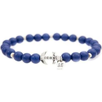 Icon Brand - Bracelet Anchorage Bleu Roi