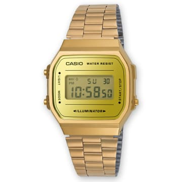 Casio - Montre Collection A168WEGM-9EF Doré