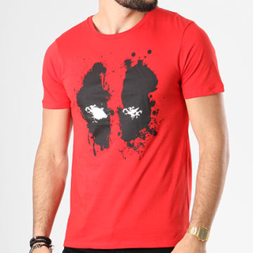 Deadpool - Tee Shirt Deadpool Rouge