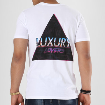 Tee Shirt Retro Wave Blanc