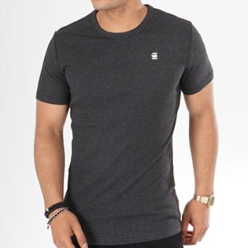G-Star - Tee Shirt Daplin D09387-1141 Gris Anthracite Chiné