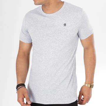 G-Star - Tee Shirt Daplin D09387-1141 Gris Chiné
