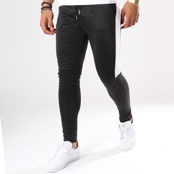 Pantalon Jogging 105 Avec Bande Noir Blanc
