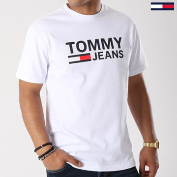Tommy Jeans - Tee Shirt Classics 4837 Blanc