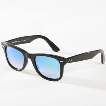 Ray-Ban - Lunettes de Soleil Wayfarer Ease 4340 Noir Bleu