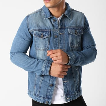 Veste Jean Fielding Bleu Denim