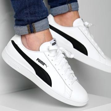 Puma - Baskets Smash V2 L 365215 01 White Black