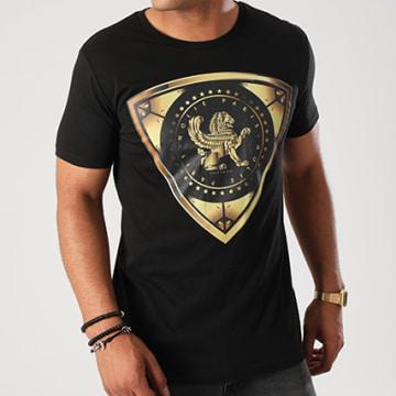 Dabs - Tee Shirt Golden Noir